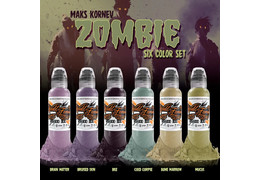 Набор World Famous Maks Kornev's Zombie Color Set